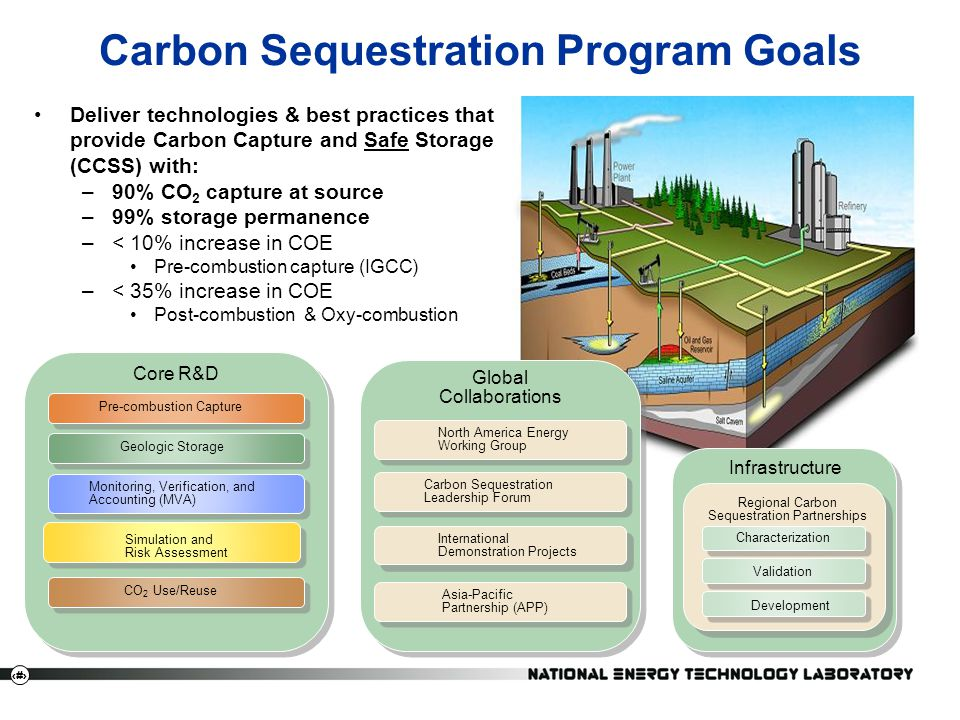 Carbon Sequestration Program Goals