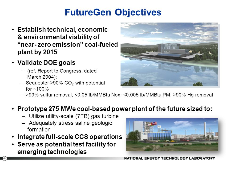 FutureGen Objectives