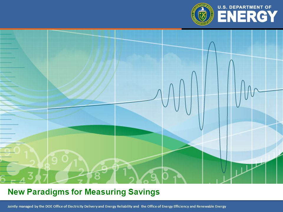 New Paradigms for Measuring Savings