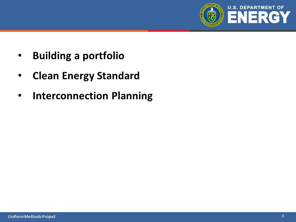 Building a portfolio Clean Energy Standard Interconnection Planning