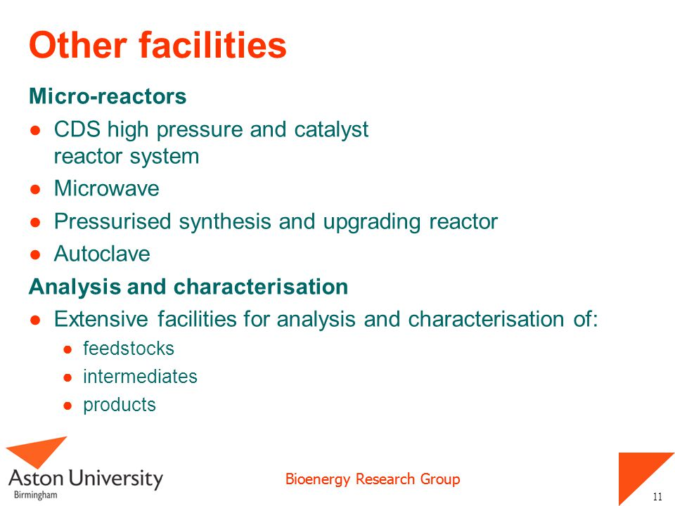 Other facilities Micro-reactors