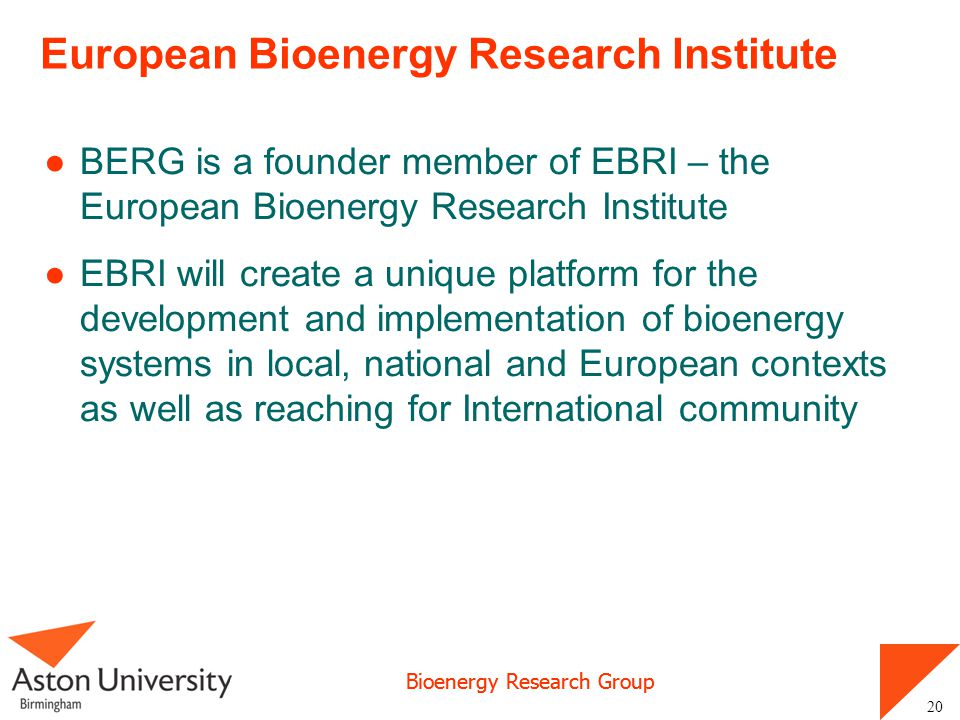 European Bioenergy Research Institute