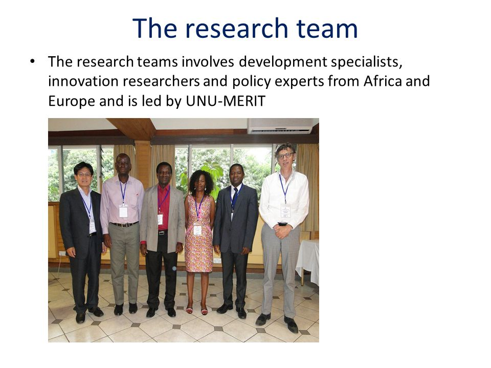 The research team