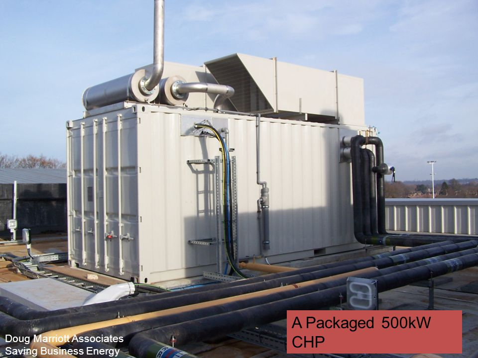 A Packaged 500kW CHP