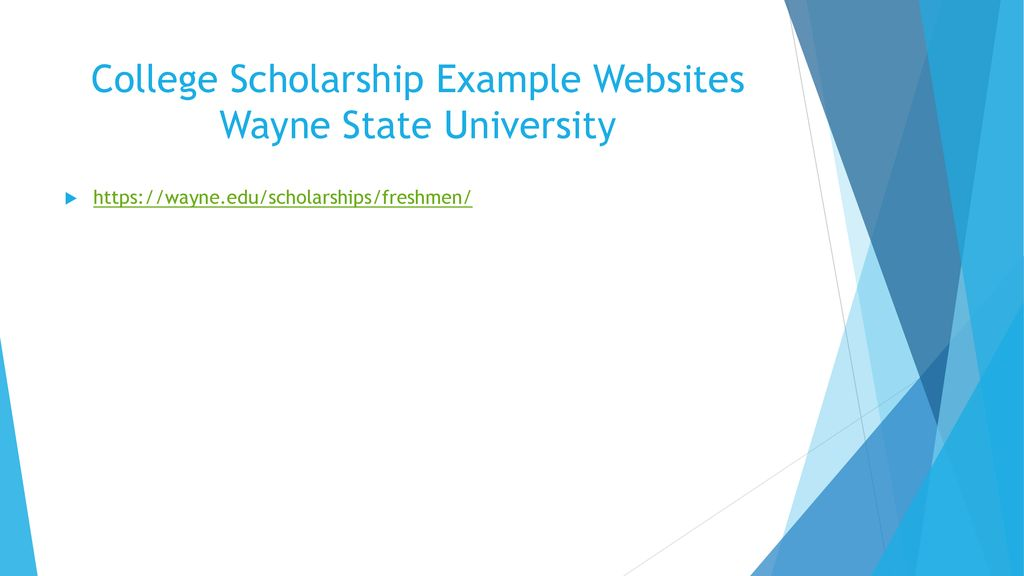 Scholarships  - ppt download