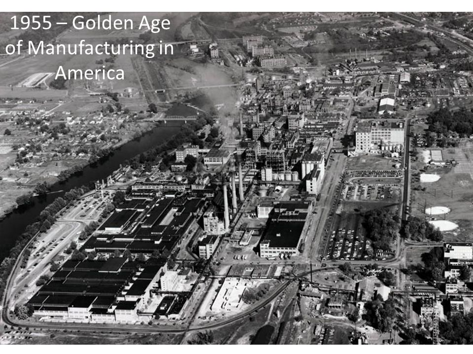 1955 – Golden Age of Manufacturing in America