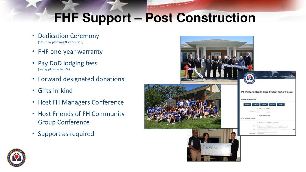 April 2019 Fisher House Foundation Update - ppt download