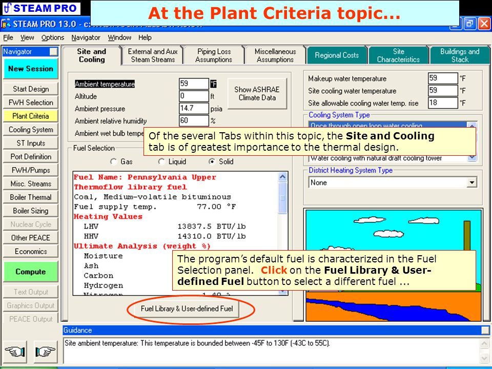 At the Plant Criteria topic...