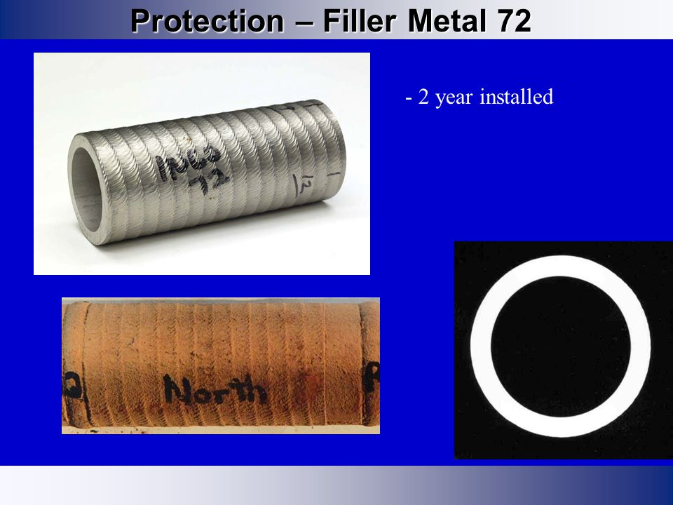 Protection – Filler Metal 72