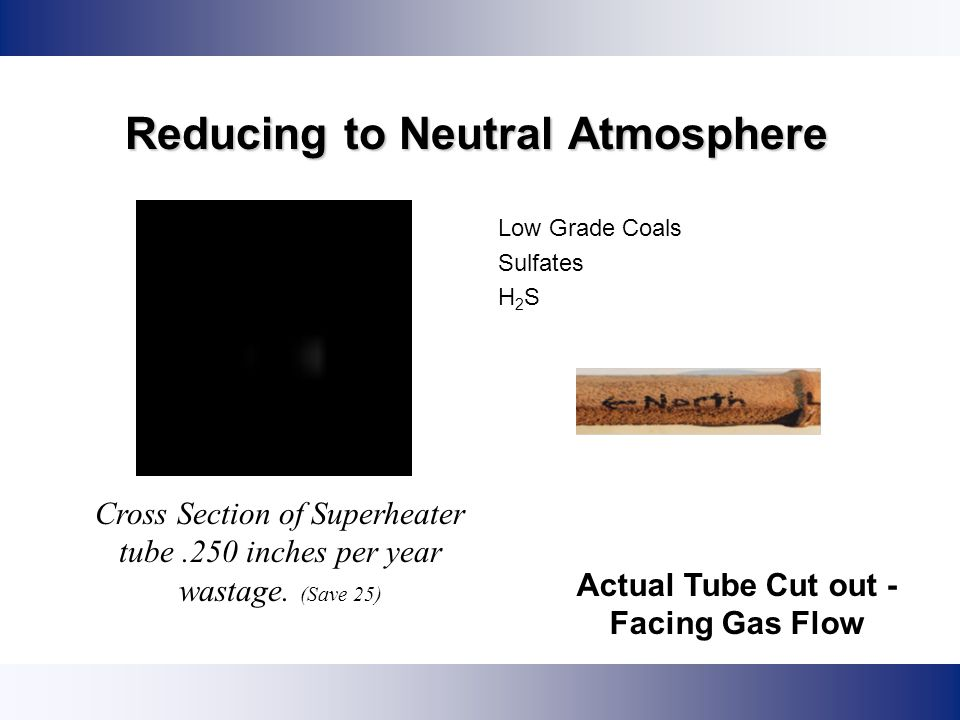 Reducing to Neutral Atmosphere