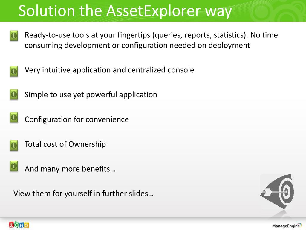 The complete tool to manage your Assets and Software