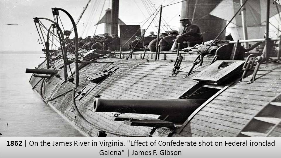 1862 | On the James River in Virginia
