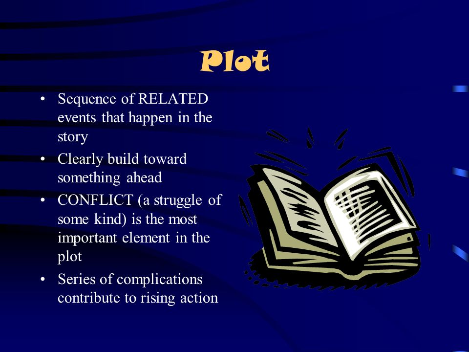 Plot Sequence of RELATED events that happen in the story