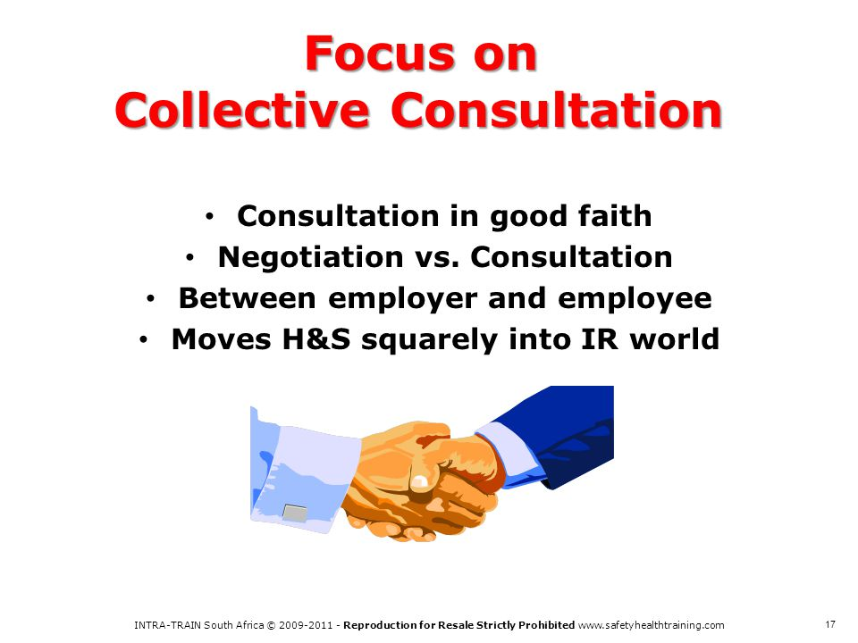 Focus on Collective Consultation