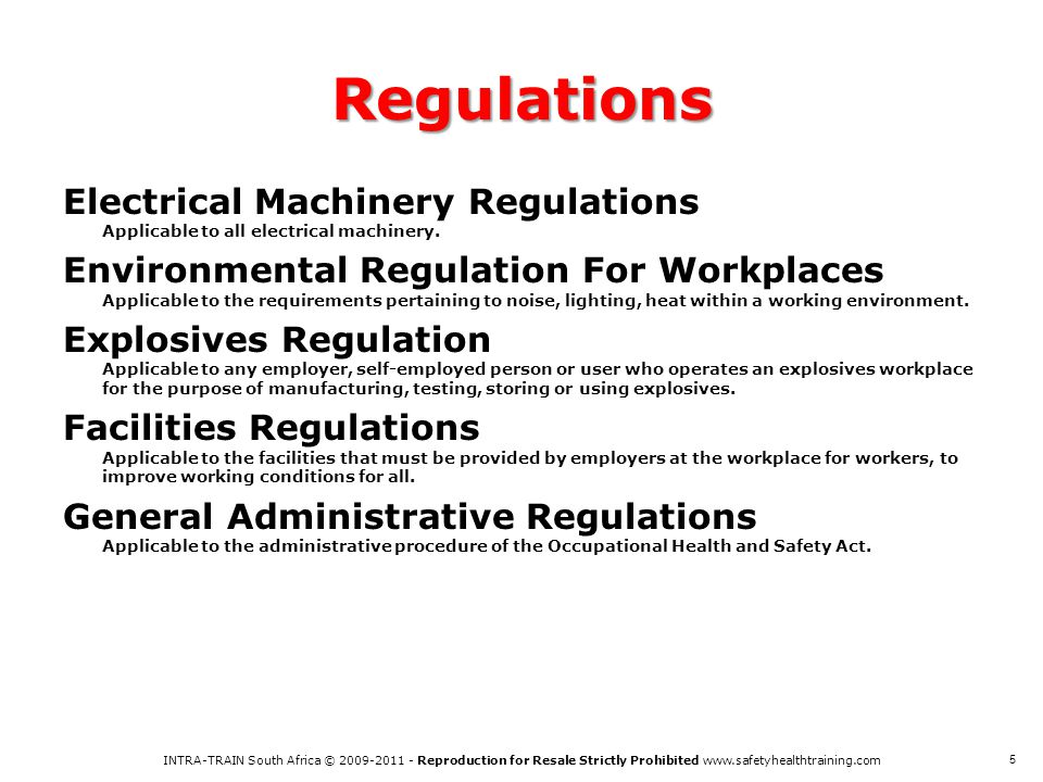 actrac overview of ohs act ppt download