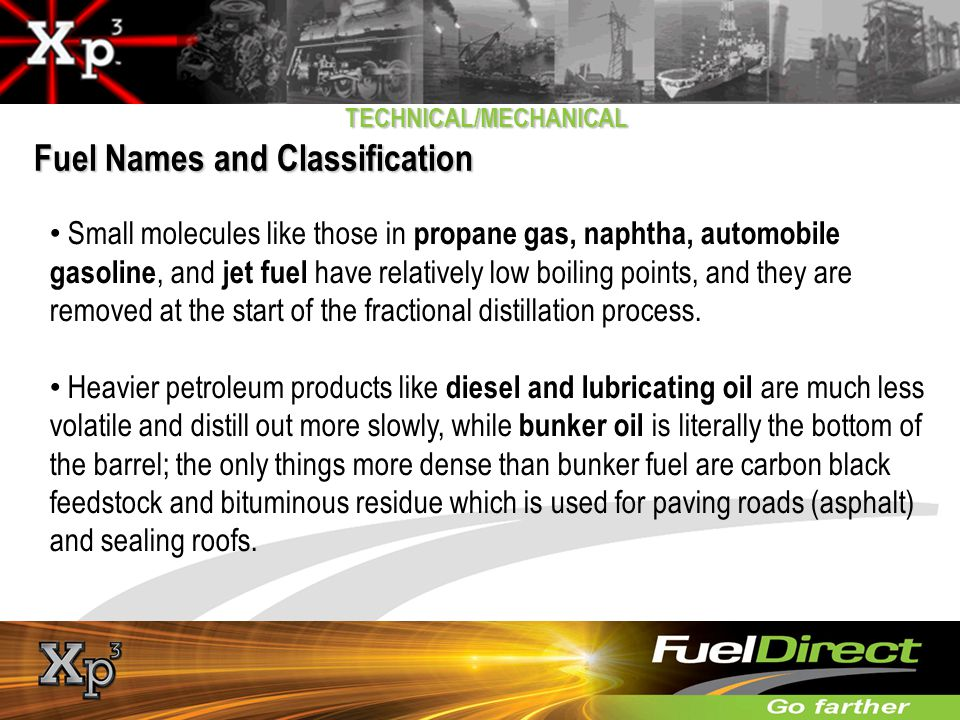 Fuel Names and Classification