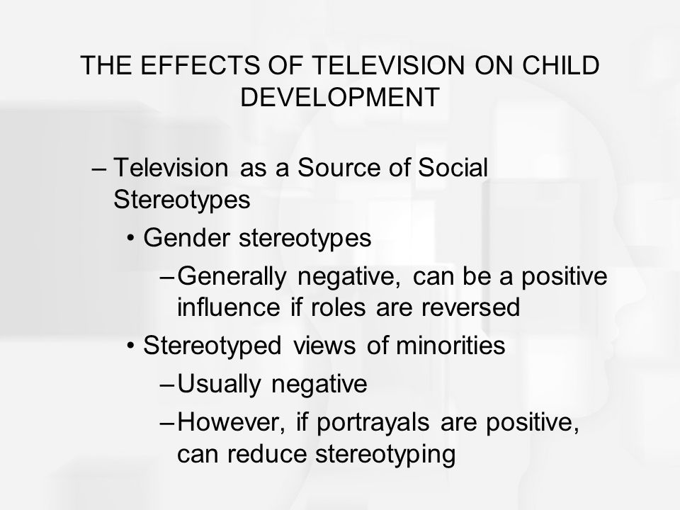 positive influence of tv