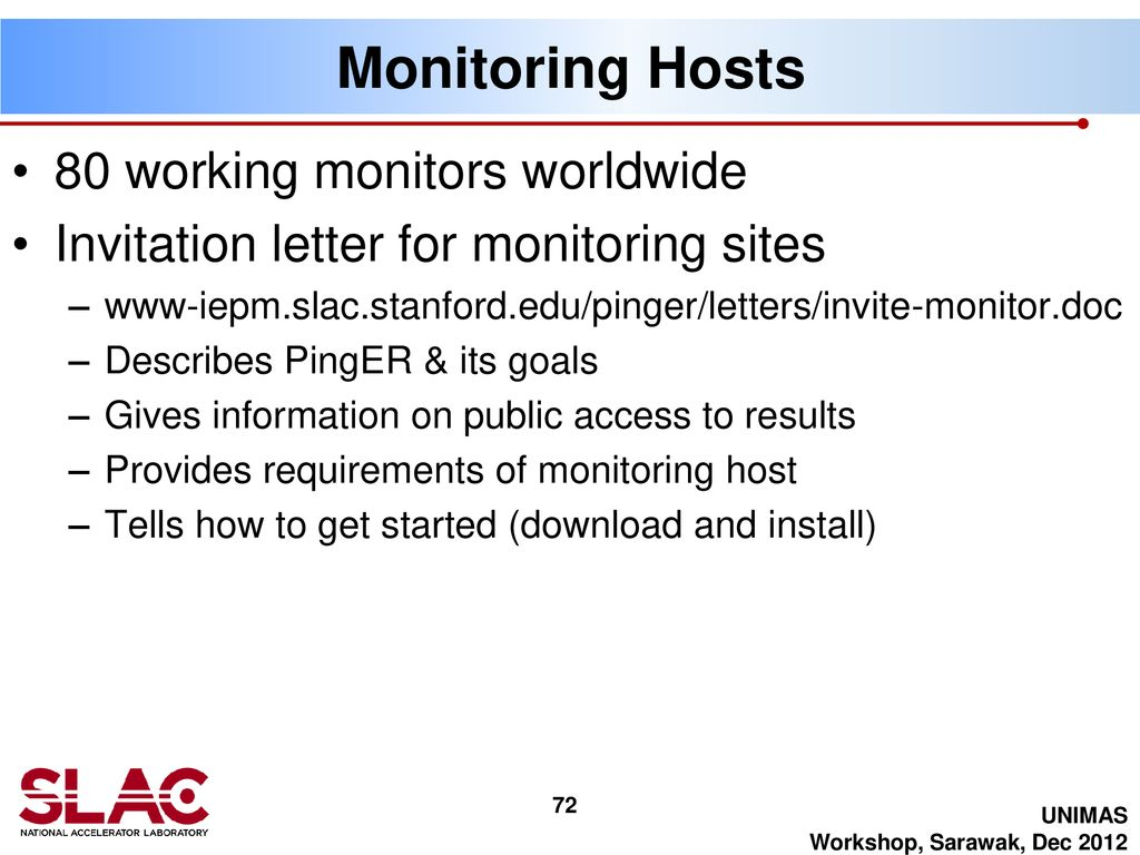 PingER: Navigating the web site and mining the data - ppt
