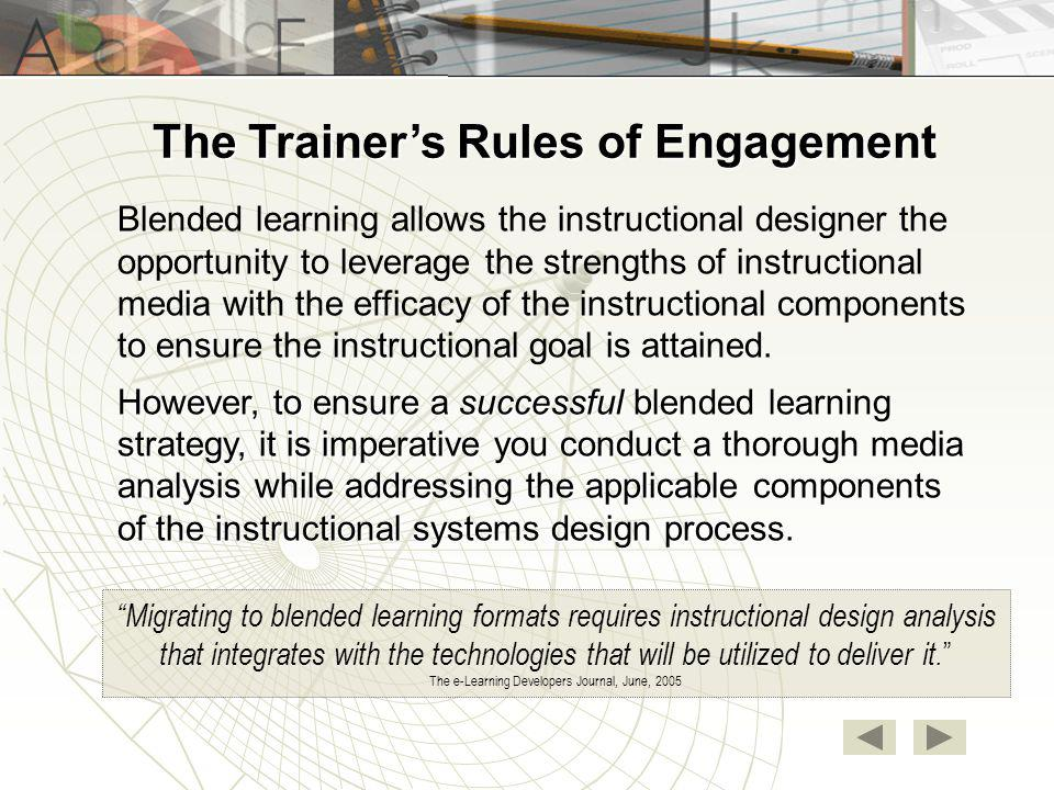 Developing A Blended Learning Strategy Ppt Download