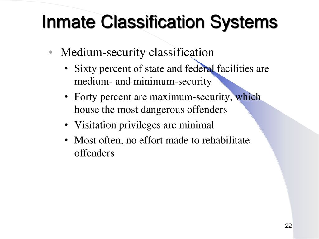 Chapter 7 Jails and Prisons  - ppt download