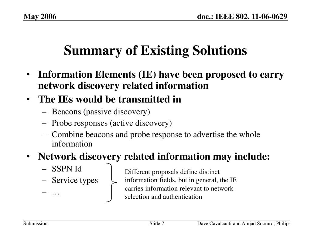 Discovery Of Information About Proposed >> Network Discovery Mechanism Ppt Download