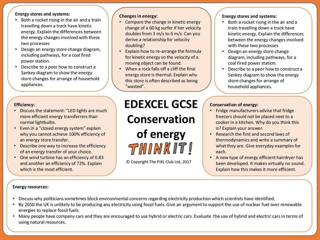 EDEXCEL GCSE Conservation of energy - ppt download