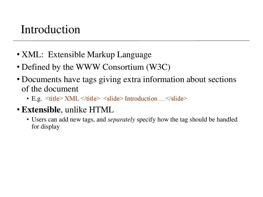 Lecture 5- Semi-Structured Data (XML, JSON) - ppt download