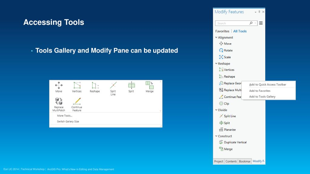 ArcGIS Pro: What's New in Editing and Data Management - ppt