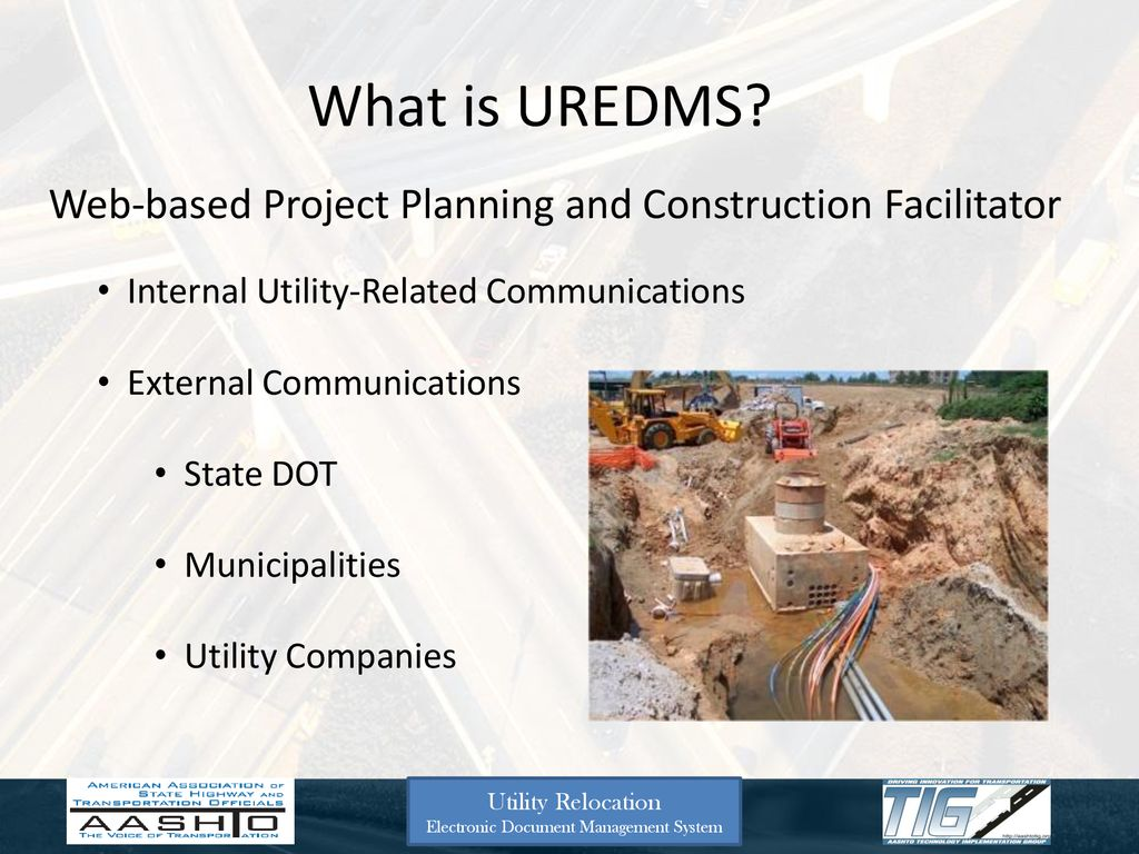 Utility Relocation Electronic Document Management System