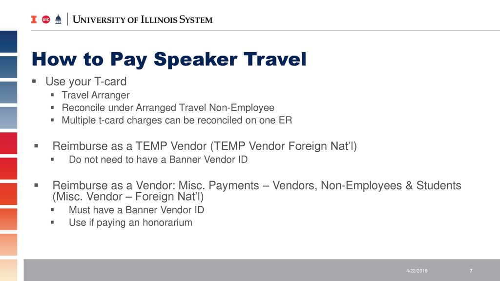 PAYMENTS TO GUEST SPEAKERS - ppt download