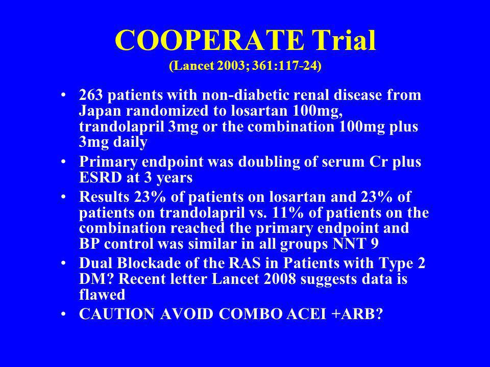 COOPERATE Trial (Lancet 2003; 361:117-24)