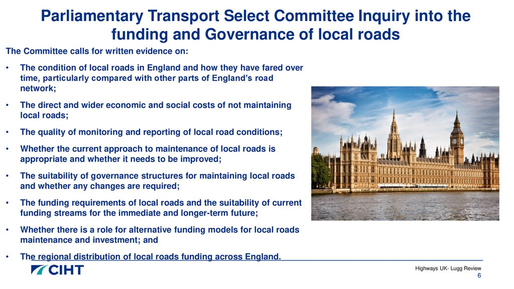 Highways UK Future proofing local roads - ppt download