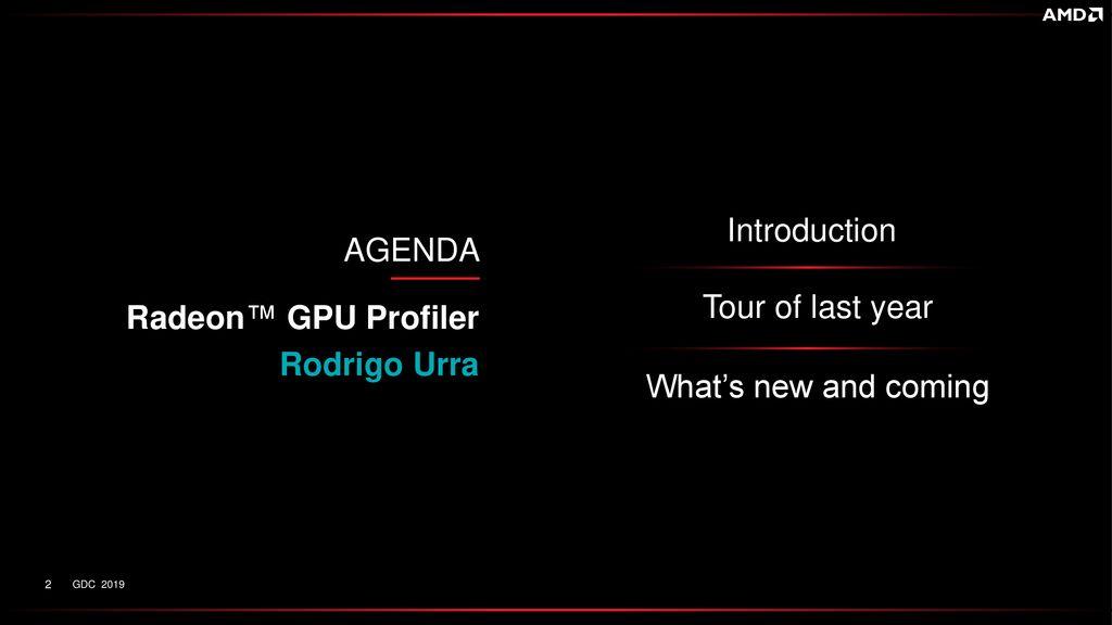 AMD GPU Performance Revealed - ppt download