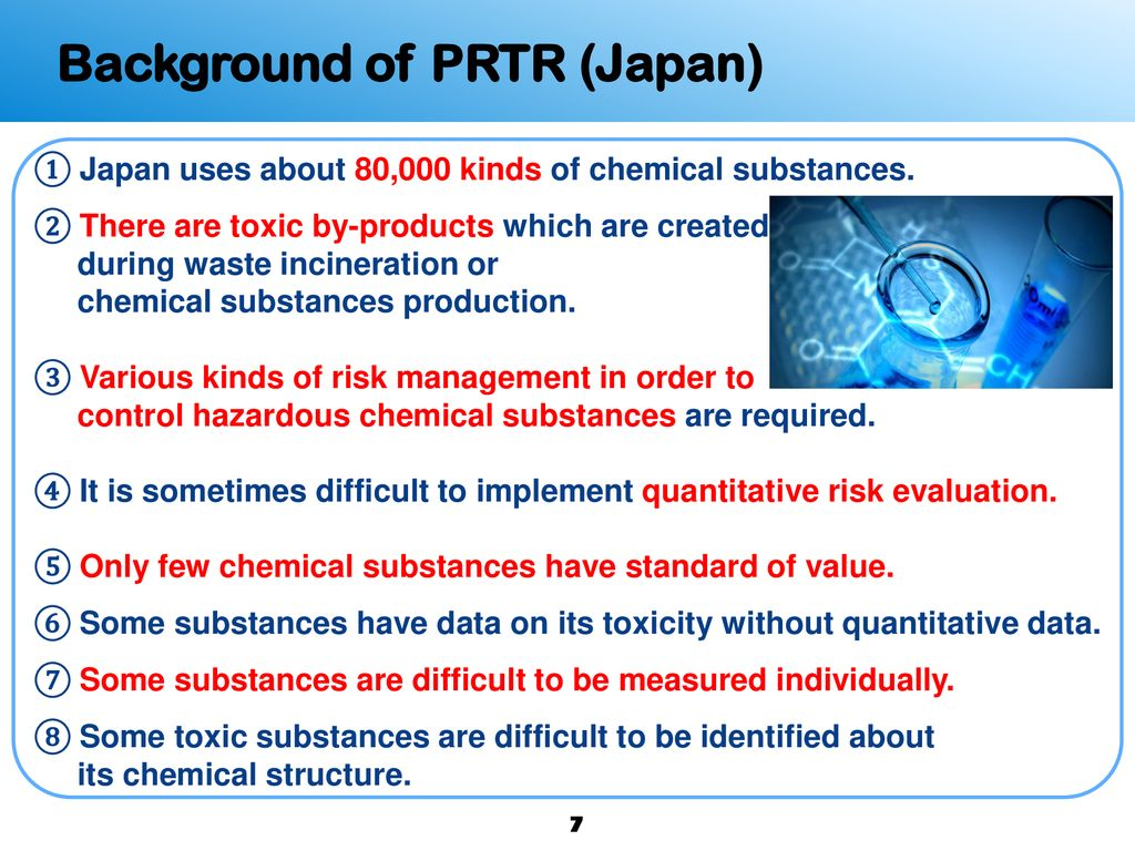 PRTR System and Actions Taken in Japan - ppt download