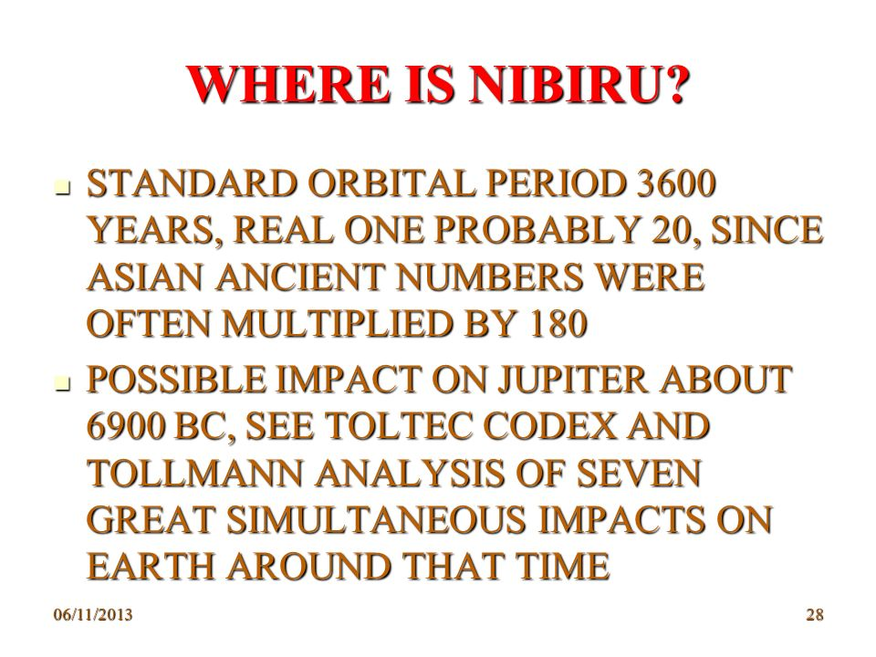 WHERE IS NIBIRU STANDARD ORBITAL PERIOD 3600 YEARS, REAL ONE PROBABLY 20, SINCE ASIAN ANCIENT NUMBERS WERE OFTEN MULTIPLIED BY 180.