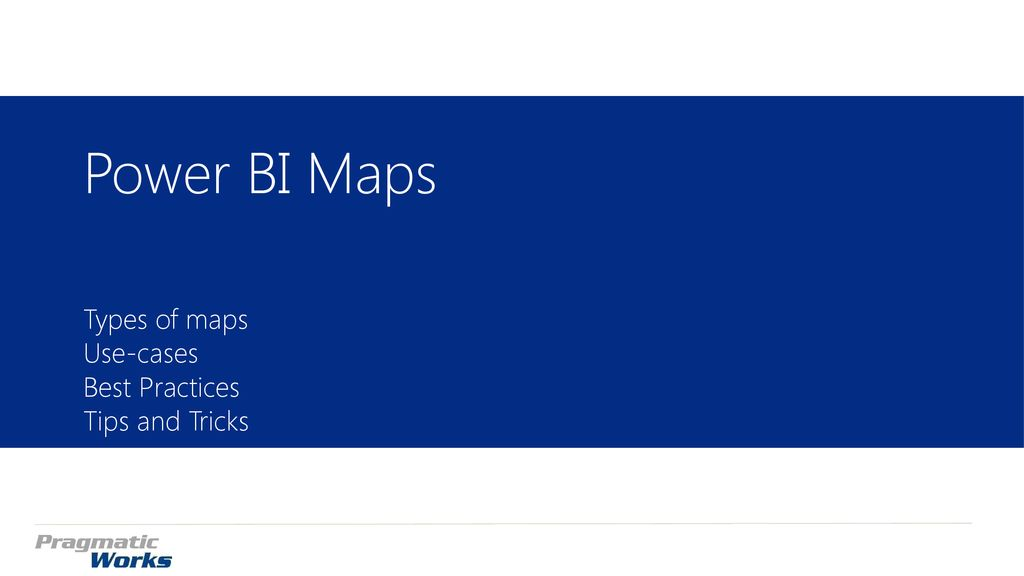 Power BI Mapping Nick lee - ppt download
