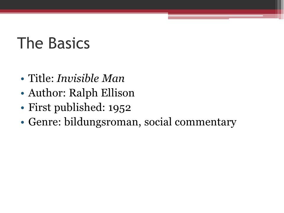 invisible man literary criticism