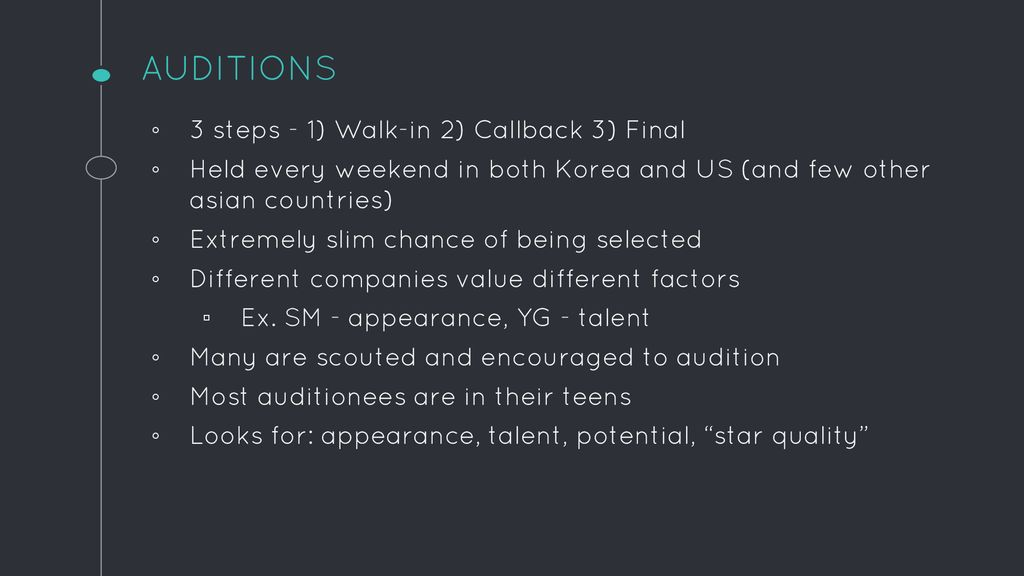 BY JENNY FAUST KPOP IDOL TRAINING  - ppt download