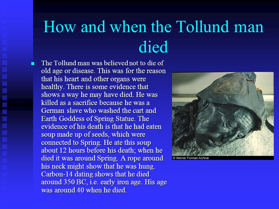 the tollund man summary