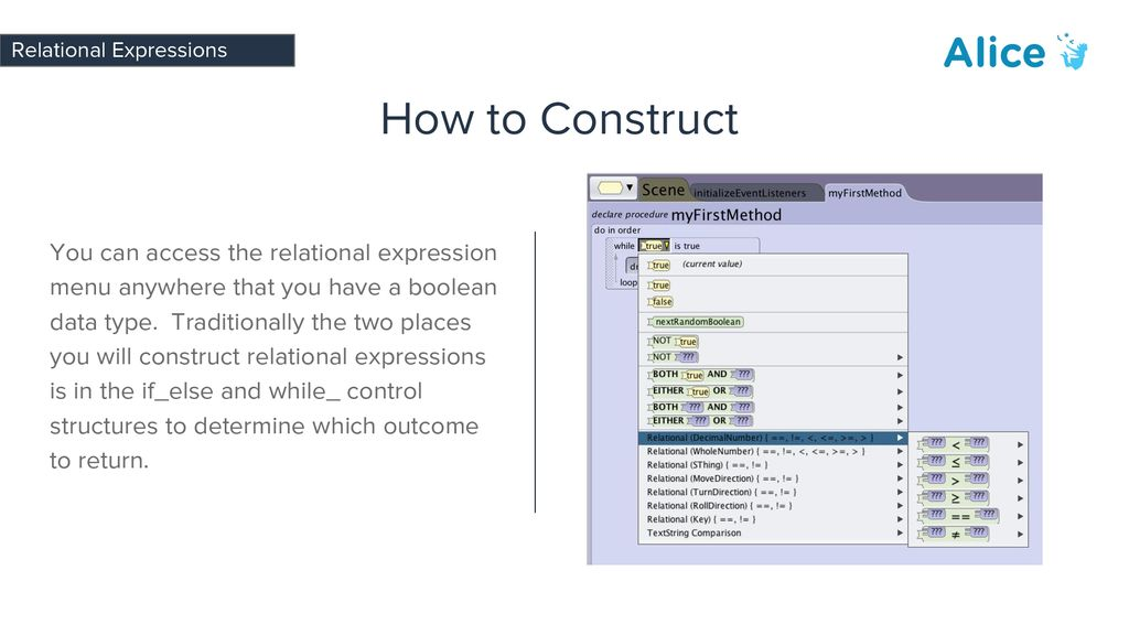 Relational Expressions - ppt download