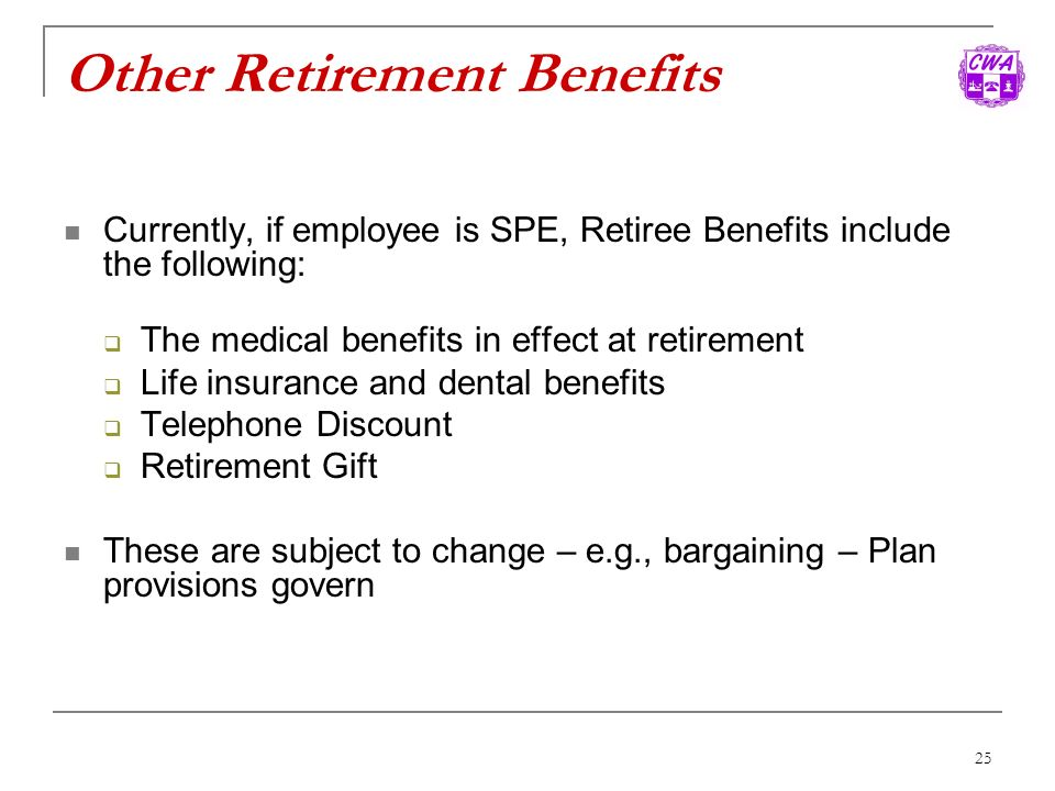 Other Retirement Benefits