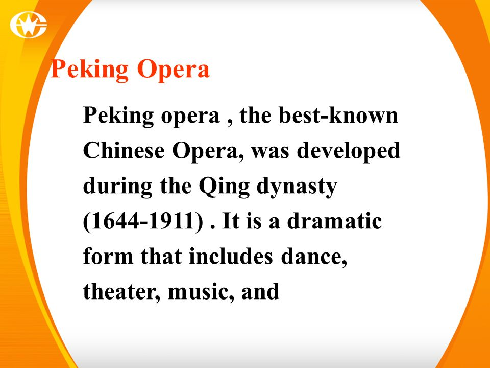Lesson 2 Beijing Opera  - ppt download
