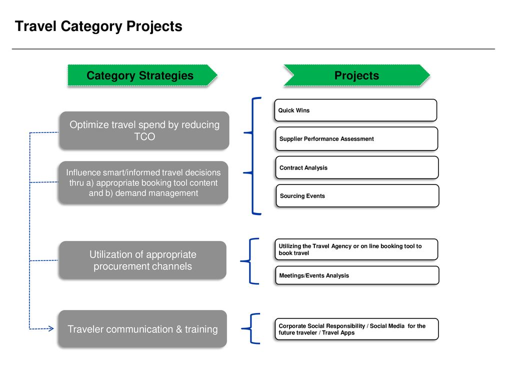 Category Management Travel Category - ppt download