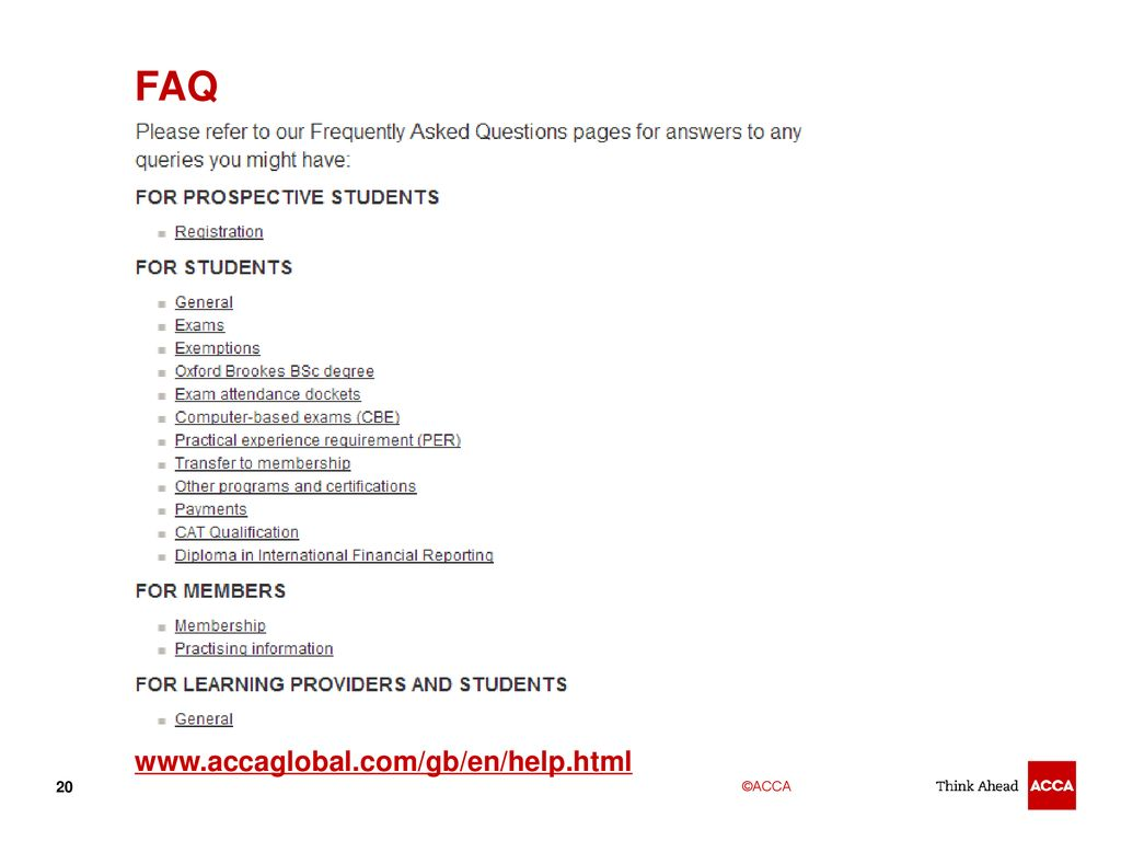 Acca Exams Fees
