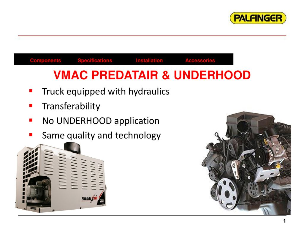 Hydraulic Driven Air Compressor Systems - ppt download