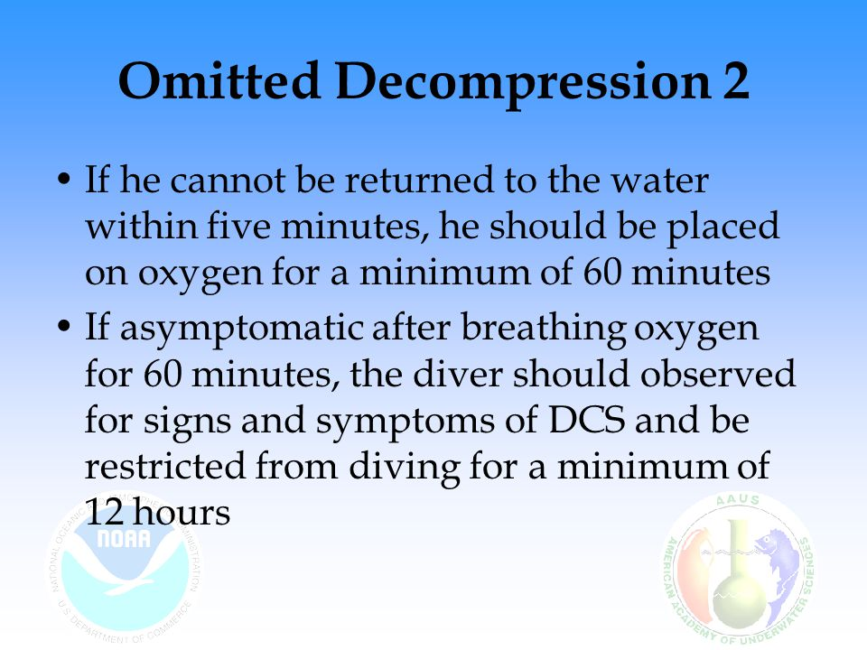 Air Diving & Decompression - ppt download
