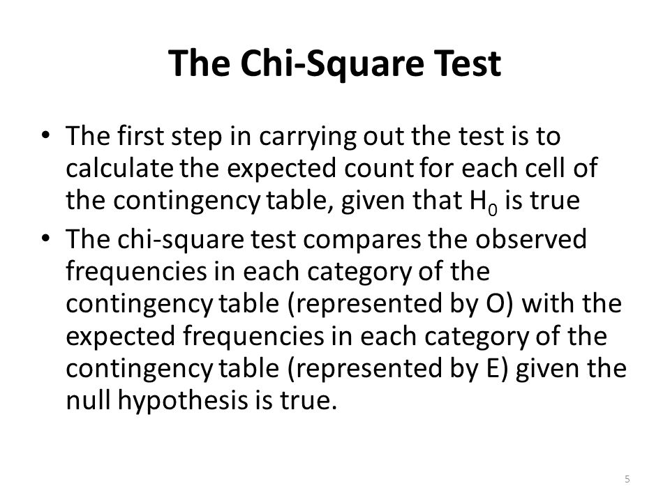 Contingency tables prepared by yu fen li ppt download the chi square test watchthetrailerfo