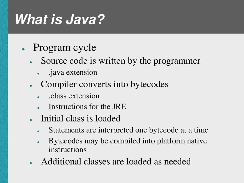 Introducing Java  - ppt download