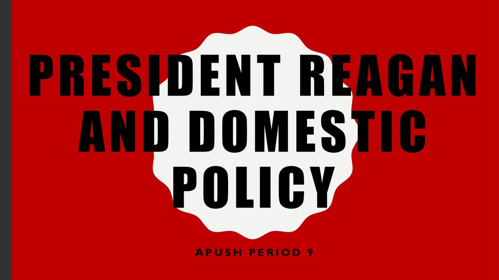 Top Five Domestic Policy Definition Apush - Circus