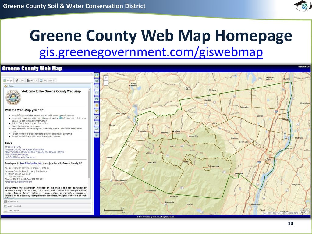 Just Map It: Greene County Web Mapping Basics - ppt download